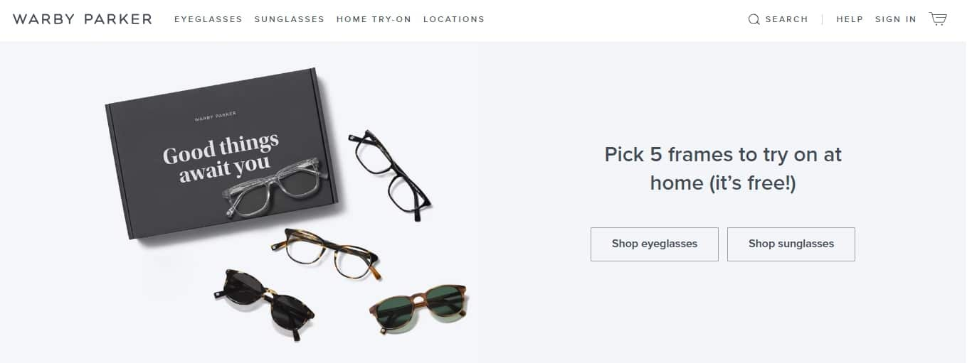 Warby Parker has experienced rapid growth by building a reputation for superb customer service.