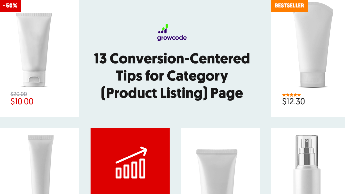 13 Conversion-Centered Tips for Category (Product Listing) Page
