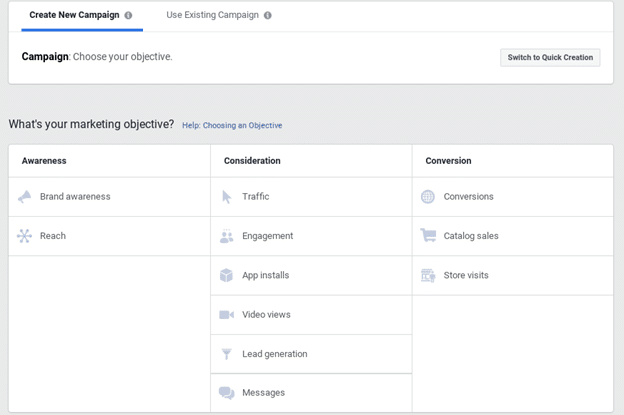 Creating Your First Facebook Remarketing Campaign