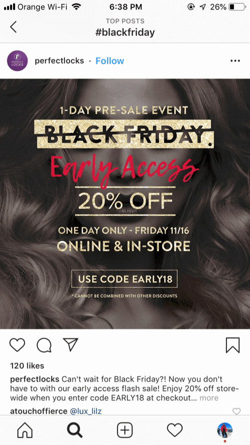 Perfect Locks holding a one day sale