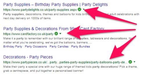 Top results for the keyword party decorations