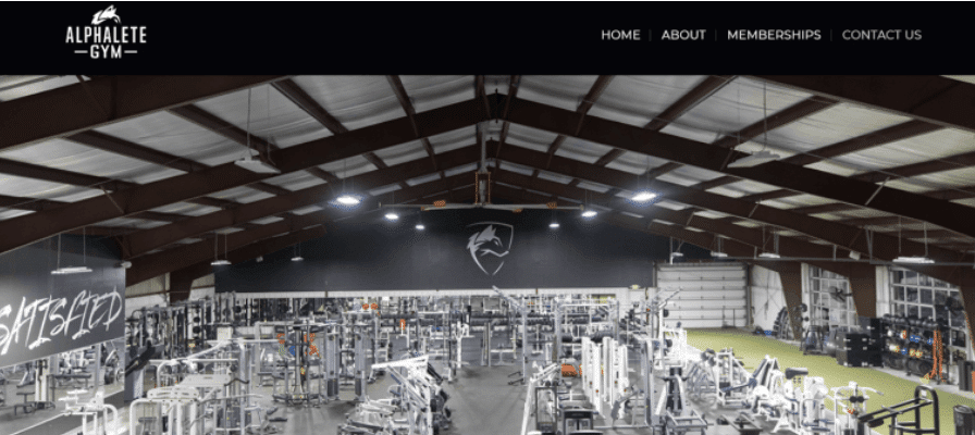 Alphalete gym in Texas