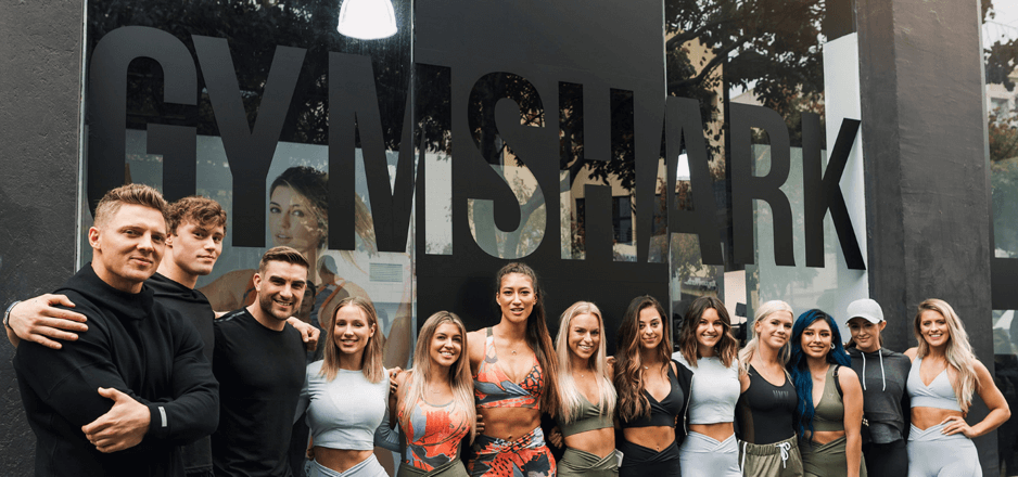 Gymshark influencer team