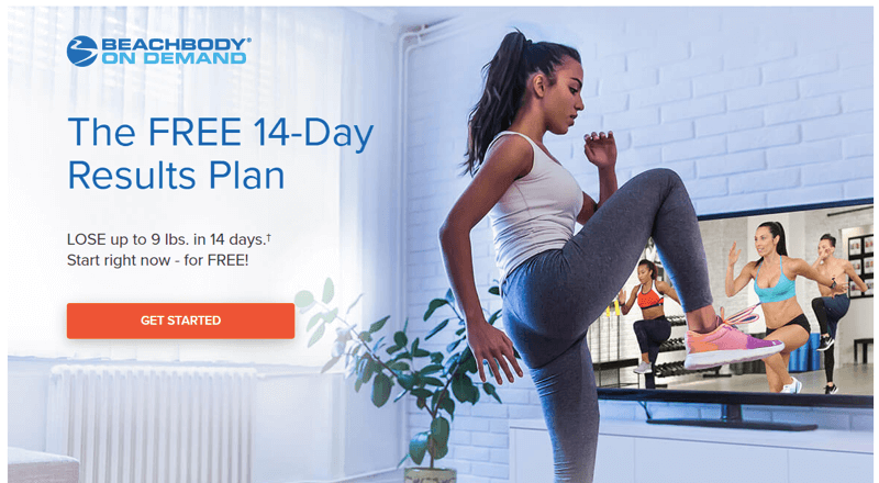 Beachbody on Demand and their double CTA
