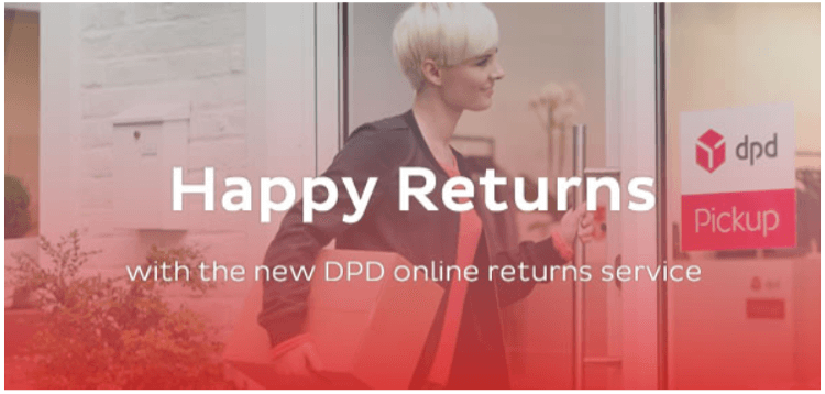 DPD enables you to quickly and painlessly return your order.