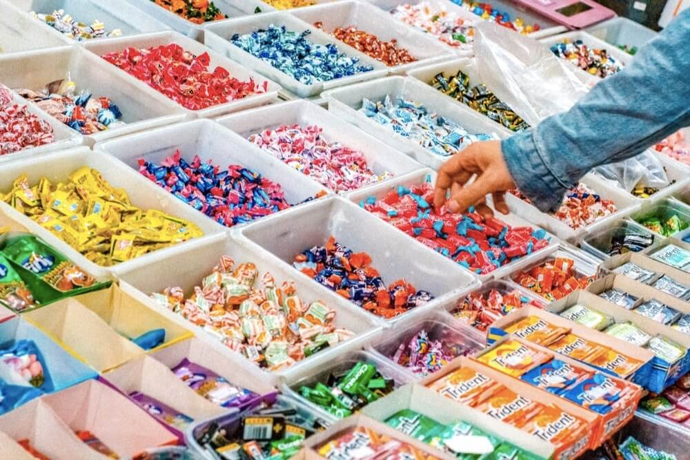 Too many sweets to choose from