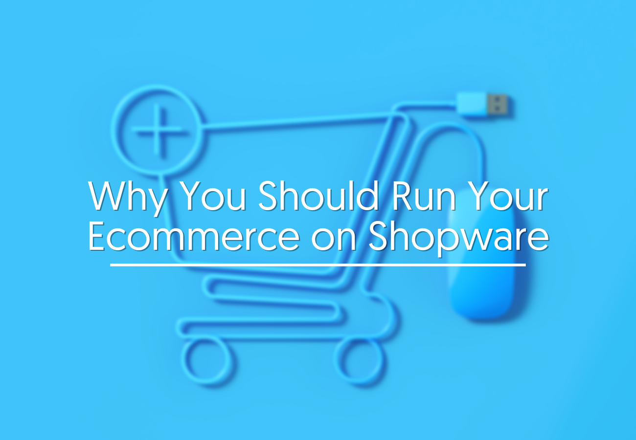 Why You Should Run Your Ecommerce on Shopware